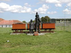 In memory of the miners of AYLESHAM Village, Kent. Who work the Snowdown mines