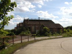 The final remains of Snowdown Colliery, Kent
