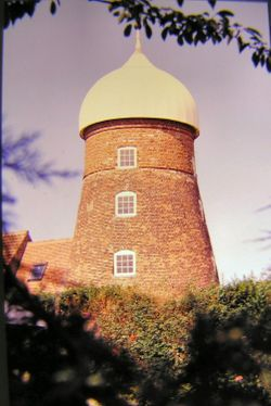 Old mill in Saltfleet, Lincolnshire