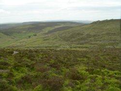 Early Bronze-Age village of Grimspound, on Dartmoor
