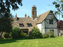 Oliver Cromwell's house at Ely, Cambridgeshire