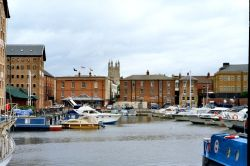 Historic Docks in Gloucester