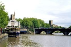 Bristol Bridge. Bristol, Somerset