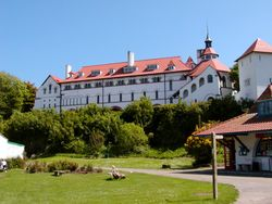 Caldey Island Abbey in South Wales
