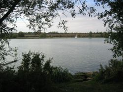 Gunwade Lake in Ferry Meadows Country Park in Peterborough