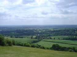 View from Box Hill, Surrey
