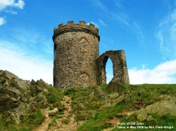 Old John Tower in Bradgate Park, Leicester