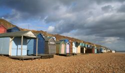Beach huts, Milford on Sea, Hampshire