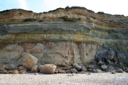 Rock layers, Hengistbury Head, Dorset