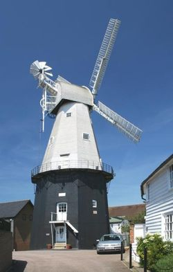 Cranbrook Mill built in 1814 (Tallest smock mill in England) Cranbrook, Kent
