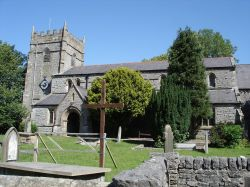 A picture of The Church at Ingleton Village, North Yorkshire.