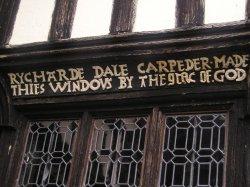 window detail Little Moreton Hall Near Congleton, Cheshire