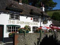 Shepherd and Dog Pub, Fulking Wallpaper