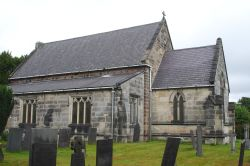 The Anglican Church of St John the Baptist at Smalley, Derbyshire