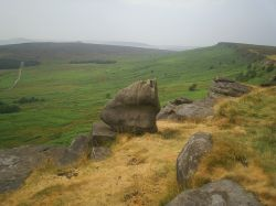 Stanage Edge, Derbyshire