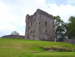 Peveril Castle, Castleton, Derbyshire
