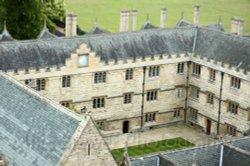 Fellows Quad, Merton College, Oxford