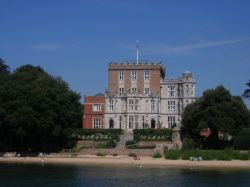 Brownsea Castle on Brownsea Island in Poole Harbour
