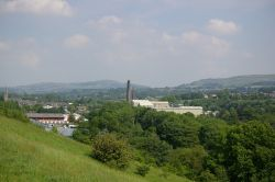 Overlooking Paper Mill in Ramsbottom from St.Catherines Way.