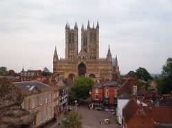 Lincoln Cathedral from Lincoln Castle