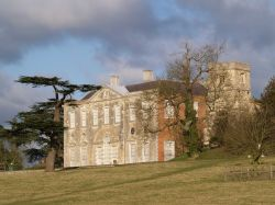 Claydon House in Middle Claydon, nr Buckingham, Buckinghamshire.
