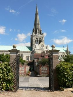 Another view of Chichester Cathedral