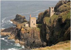 Botallack Mines in Cornwall
