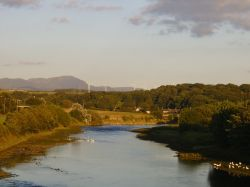 River Derwent, WORKINGTON, Cumbria `With The Lakeland Fells In Background'
