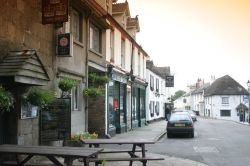 Chagford, Devon. The Three Crowns Hotel