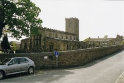 St. Oswalds Church in Askrigg, North Yorkshire