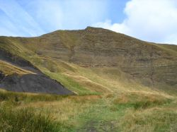 Mam Tor in Hope Valley, Derbyshire