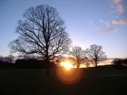 Sunset at Capernwray Farm, Lancashire