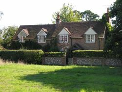 Cottage in Nettlebed, Oxfordshire, seen in 'Midsomer Murders' detective series