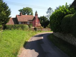 Cottage in Nettlebed, seen in 'Midsomer Murders' detective series
