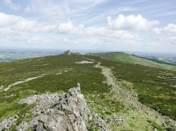 View from Manstone Rock, Stiperstones, Shropshire