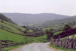 View to the south taken in upper swaledale near Keld, North Yorkshire