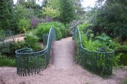 Swiss Gardens - one of the ornamental bridges in the garden