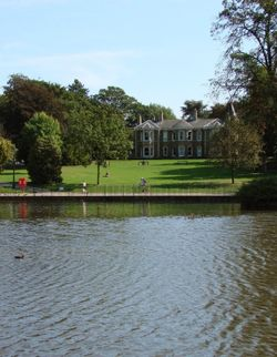 Arnot Hill Park and House, Arnold, Nottinghamshire