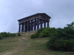 Penshaw Monument in Penshaw, Tyne & Wear