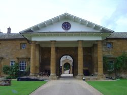 The stables of Althorp House near Northampton, Northamptonshire