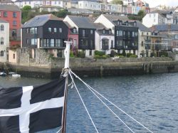 The harbour at Falmouth, Cornwall