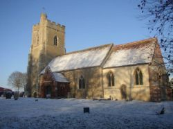 St Mary's Church, Great Bradley, Suffolk