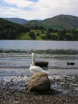 A picture of Ullswater in Lake District - England