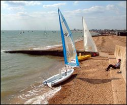 Sea front at Shoeburyness, Essex