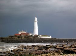 St. Mary's Lighthouse, Whitley Bay, Tyne & Wear.