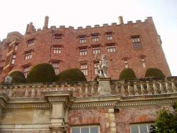 Powis Castle and Gardens, Welshpool, Wales