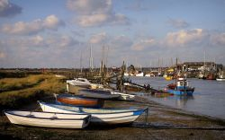Fishing Boats at Walberswick, Suffolk