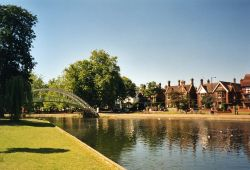 The great Ouse in Bedford, July 2003