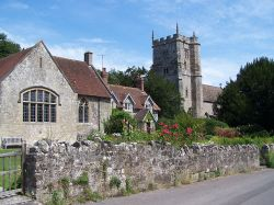 East knoyle village hall & Church, East Knoyle, Wiltshire