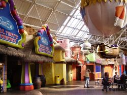 Inside the pyramid fantasy island,Ingoldmells Lincolnshire.